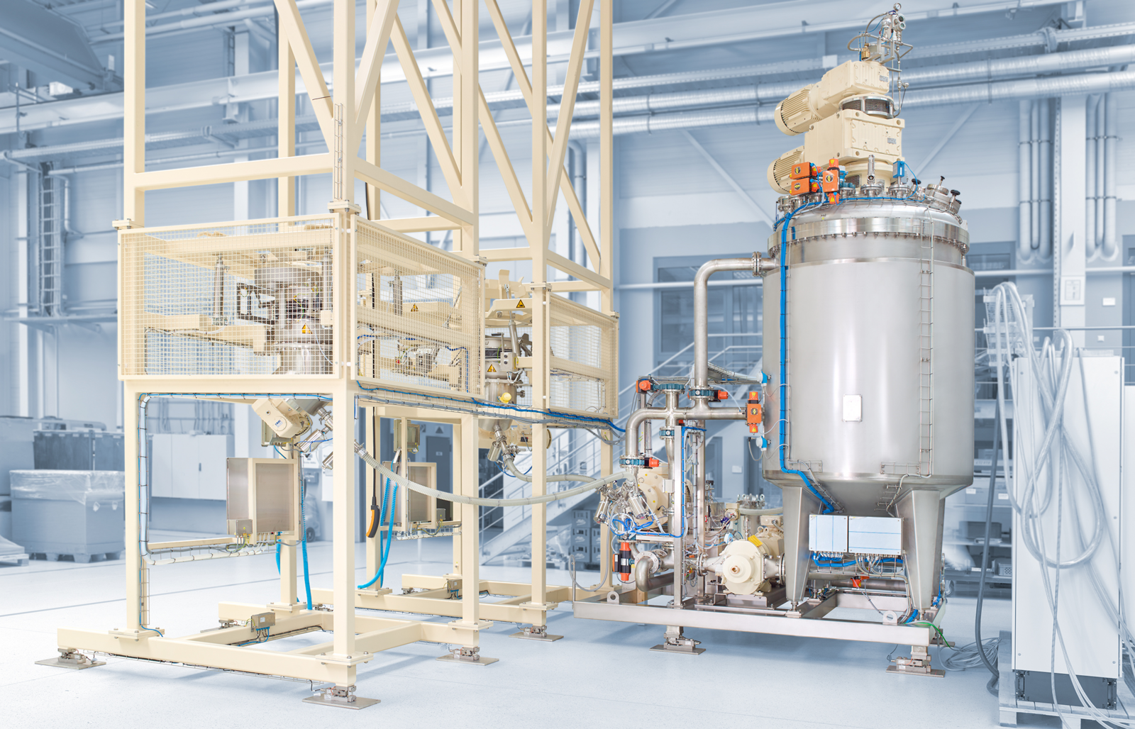 ystral process systems Hardeners or resin formulations