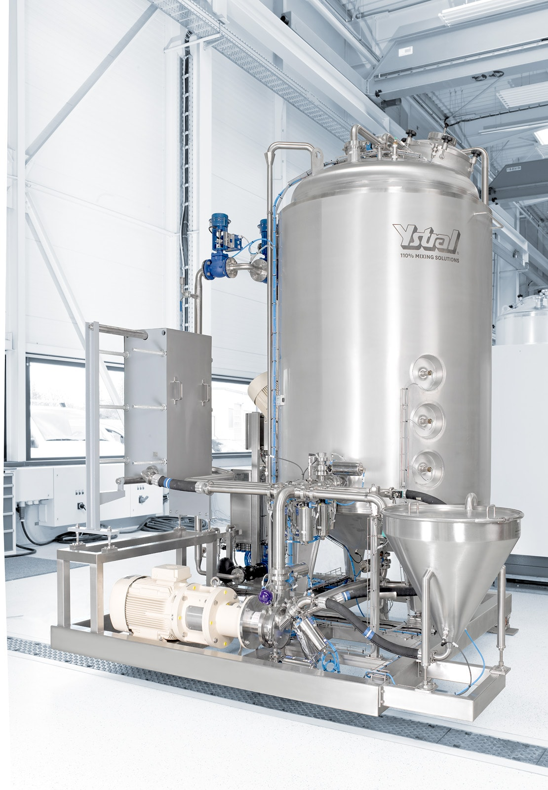 ystral process systems cheese