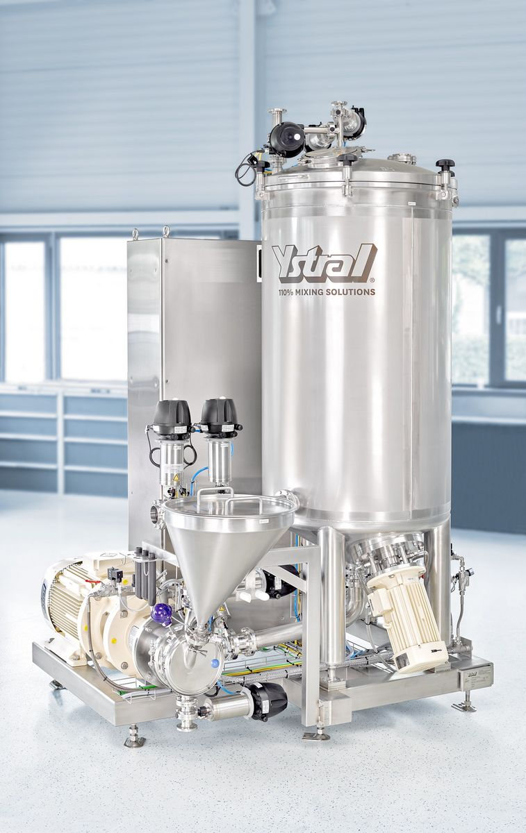 ystral process system thickener solutions